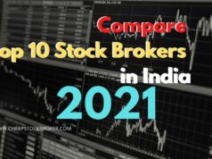 Compare Top 10 Stock Brokers in India