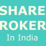 top 5 stockbroker in India