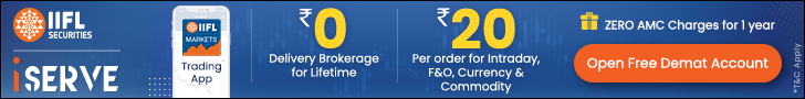 Open Free Demat Account with IIFL Securities